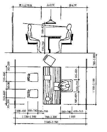 办公室次修施工电路图怎么画