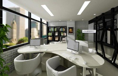 窗外的环境察看好之后,室内摆设写字台最理想的方案是:写字台