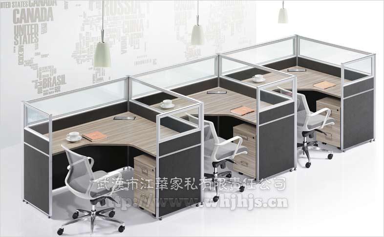 办公室办公家具组合设计图片
